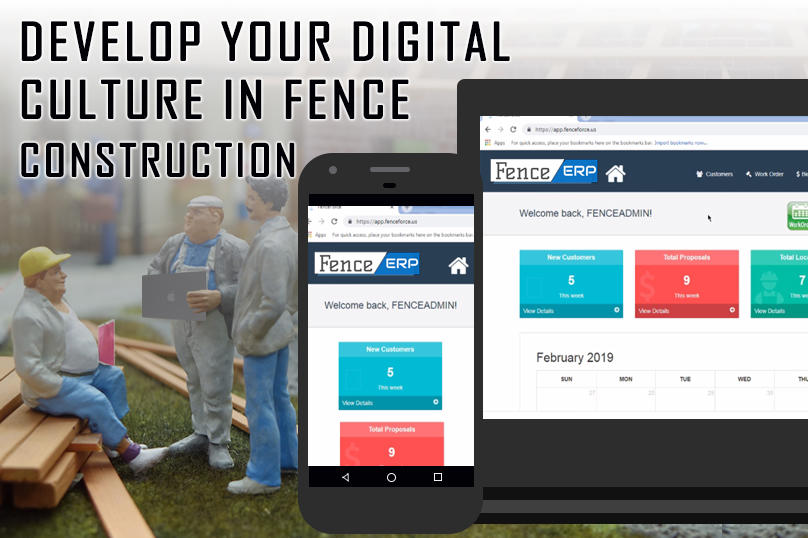 Develop Your Digital Culture in Fence Construction